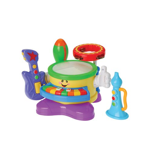 6 in 1 Musical Band Toys For Children - 1