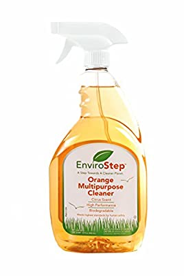 Envirostep (32oz) Multi-Surface Citrus Cleaner / Deodorizer / Degreaser - Versatile Streak-Free All Purpose Cleaner for Glass, Steel, Kitchens & More (Child & Pet Safe / Non Toxic)