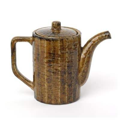 Japanese Earthenware Teapot (Brown)