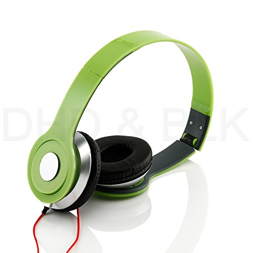 Great Features Of HeadGear 3.5mm Foldable Headphone Headset for Dj Headphone Mp3 M Pc Tablet Music V...