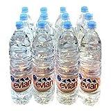 送料無料! evian エビアン 1.5L ペットボトル 12本2セット(24本) 【ミネラルウォーター】