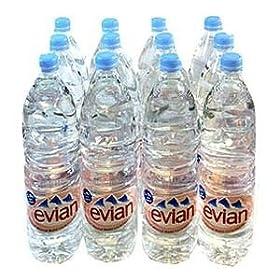 【クリックで詳細表示】evian エビアン 1.5L ペットボトル 12本2セット(24本) 【ミネラルウォーター】: 食品・飲料・お酒 通販