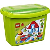 Dynamic Lego Duplo Deluxe Brick Box (5507) with accompanying LEGO Storage Bag