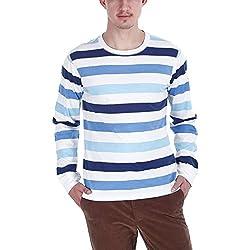Zobello Men's Sweatshirt (21014A_Blue_X-Large)