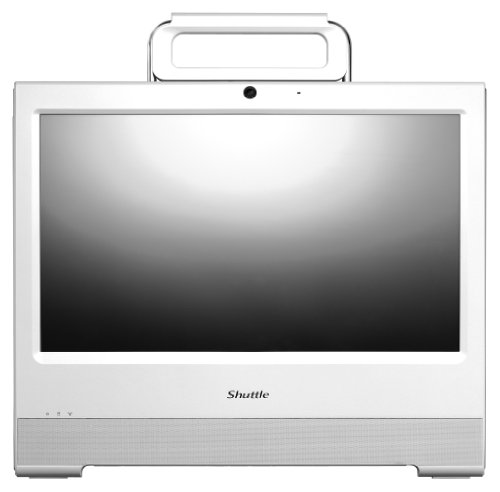 Shuttle X50 v3L 15.6 inch All-in-One Barebone PC (White) - (Intel Atom D2550 1.86GHz Processor, 1x 2.5 inch S-ATA, 2x DDR3, Touch Screen, Wi-Fi, 4-in-1 Card Reader, HDMI, VGA)
