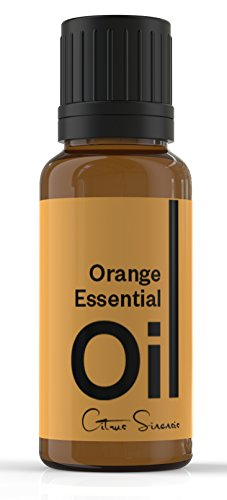 Cielune Orange Essential Oil - 100% Pure, All Natural Cold Pressed - Therapeutic Grade - Ideal for Aromatherapy - Used as an Anti-inflammatory, Antiseptic, Antidepressant, Aphrodisiac, Diuretic, Sedative, Insecticide - Natural Remedy for Improving Digestive Health, Brain Function & More - Satisfaction Guaranteed - 10ML (Commercial Fragrance compare prices)