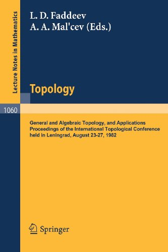 Topology: General and Algebraic Topology and Applications. Proceedings of the International Topological Conference held