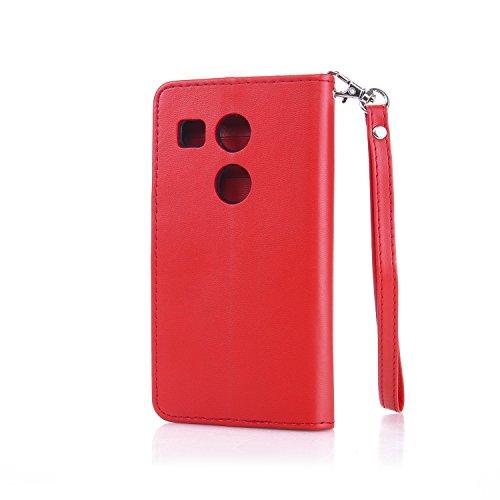 Leather-Case-Cover-Custodia-per-LG-Nexus-5X-Cozy-Hut-Caso-copertura-telefono-involucro-del-modello-PU-con-a-Bookstyle-tasche-carte-di-credito-funzione-con-interno-morbido-in-TPU-Portafoglio-Supporto-S