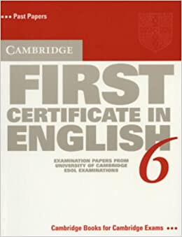 Cambridge English First 5 With Answers Pdf