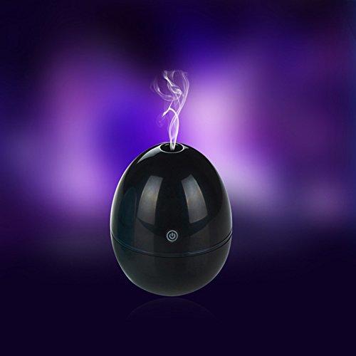 Portable Mini Egg Ultrasonic Cool Mist Humidifier Auto Shut-off Oil diffuser for Office Yoga SPA Bedroom Home (Ultrasonic Egg Humidifier compare prices)