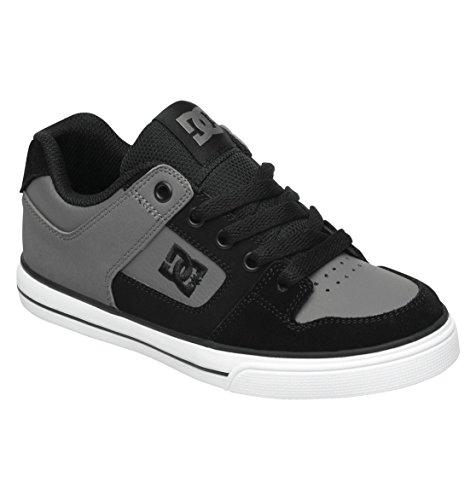 Dc Pure Skate Sneaker (Toddler/Little Kid/Big Kid),Charcoal/Black,13 M Us Little Kid