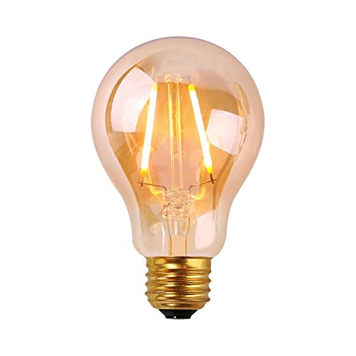 GMY Lighting® Edison Vintage Style Filament Led Light Bulb A19 120V E26 2W 2200K Warm White (Led Warm Lightbulbs compare prices)