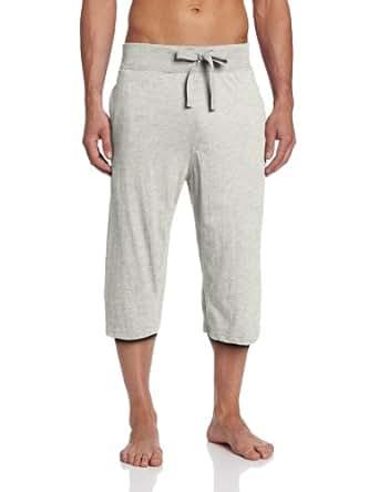 Bottoms Out Men's Knit Clam Digger, Grey, Medium