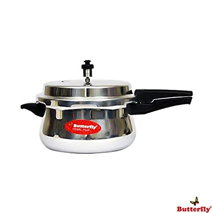Butterfly-Pearl-Plus-Hard-Anodised-3-L-Pressure-Cooker-(Outer-Lid)
