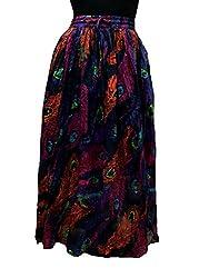 Cotton Breeze Womens Skirt (FP379,Black)