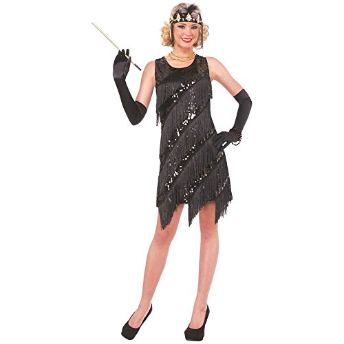 Midnight Dazzle Flapper Adult Costume