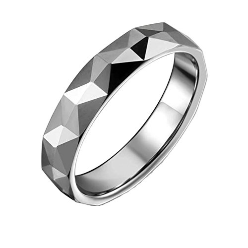 Um Jewelry Couple Rings Classic Tungsten Steel Bands For Him And Her Come Together