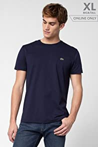 Tall Short Sleeve Pima Jersey Crewneck T-shirt
