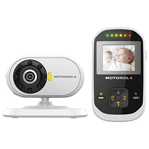 "Motorola Mbp18 1.8"" Lcd Video Baby Monitor - Night Vision & Led Sound Indicator Free Shipping"