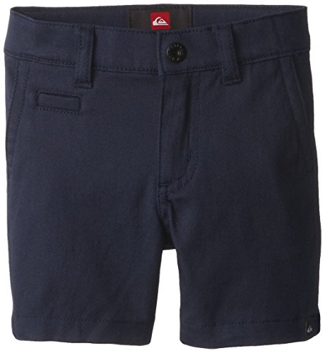Quiksilver Baby-Boys Infant Union Chino Short, Navy Blazer, 24 Months front-639898