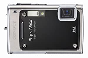 Olympus Stylus 1030SW 10.1MP Digital Camera with 3.6x Optical Wide Angle Zoom (Black)