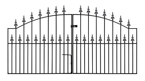 gaelic13-arched-safety-spear-top-driveway-gates-2438mm-gap-x-1255mm-high-wrought-iron-metal-gate-by-