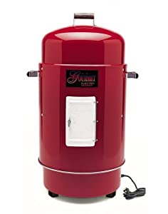 Brinkmann 810-7080-4 Gourmet Electric Smoker and Grill, Red