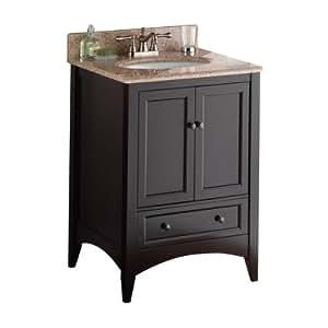 Foremost beca2421d berkshire 24 inch espresso bathroom - Foremost bathroom vanity reviews ...