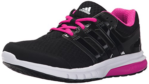 Adidas Performance Women's Galaxy Elite W Women's Running Shoe,Black/Black/Shock Pink,10 M US