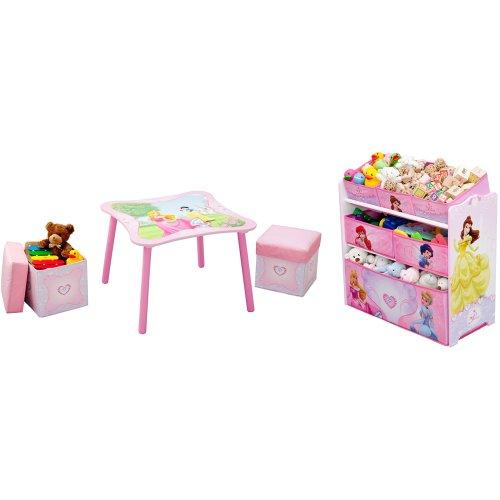 Delta Children 2 Piece Room Solution, Disney Princess (Princess Table compare prices)