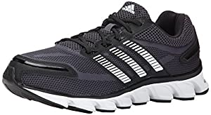 adidas Performance Men's Powerblaze M Running Shoe, Black/White/Bold Onix, 10.5 M US
