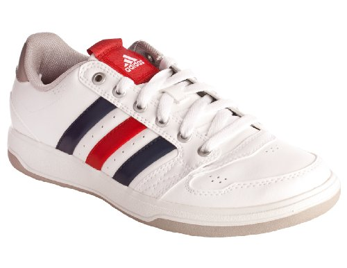 Adidas Oracle V Sneaker- Runwhite- New Navy Light Scarlet (9)