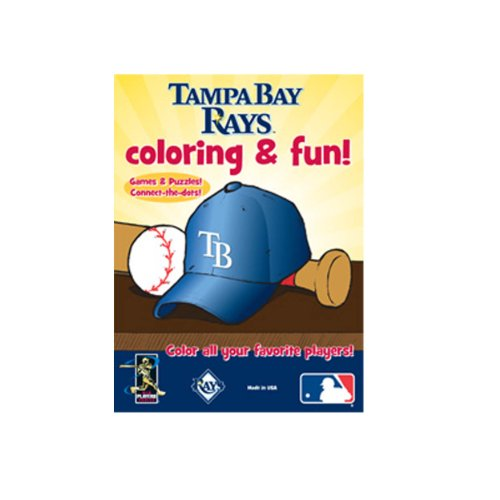 MLB Tampa Bay Devil Rays Coloring & Activity Book - 1