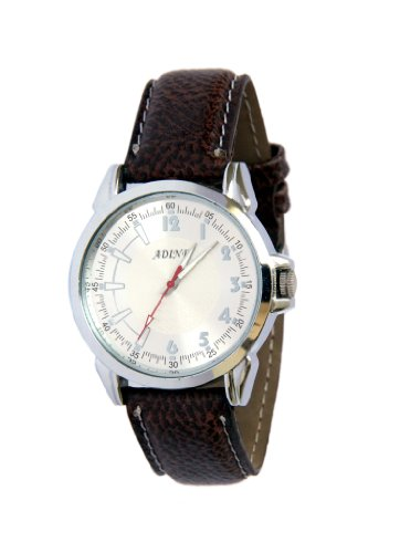 ADINE \/AD-310brown\/silver Watch for MEN
