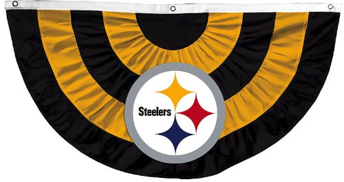 NFL Pittsburgh Steelers Bunting Banner
