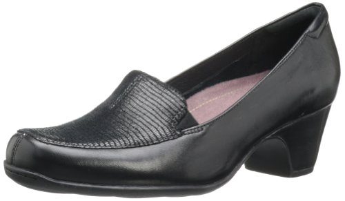 Clarks Women'S Sugar Zest Loafer,Black,8 W Us