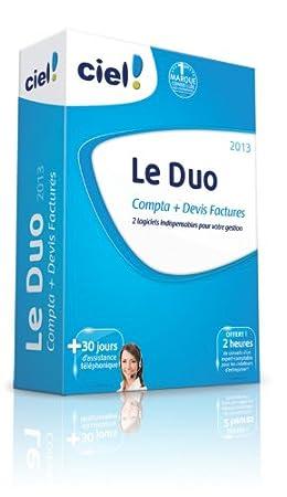 Le Duo Ciel 2013 (Ciel Compta 2013 + Ciel Devis Factures 2013) + 30 jours d'assistance téléphonique