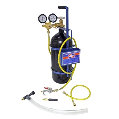 Uniweld 40040 Nitrogen Sludge Sucker and Blaster Kit with Metal Carrying Stand for 40 Cubic Feet Nitrogen Tank