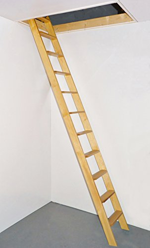 dolle-straight-flight-timber-one-piece-loft-ladder