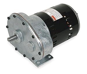 Dayton model 1lpu5 gear motor 31 rpm 1 2 hp 115 volts for Dayton electric fan motors