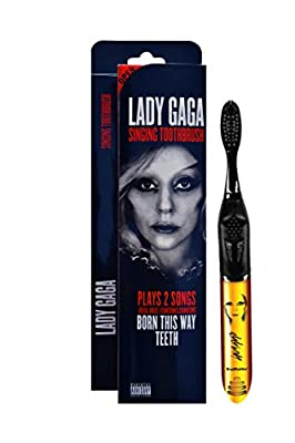 Brush Buddies 00325-24 Lady Gaga Singing Toothbrush (Born This Way and Teeth) (Pack of 24)