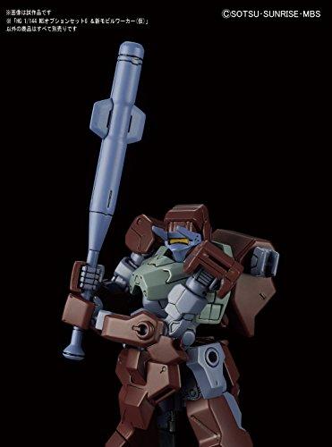 HG機動戦士ガンダム 鉄血のオルフェンズ MSオプションセット6&新モビルワーカー(仮) 1/144スケール プラモデル