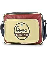 Vespa Servizio Horizontal Shoulder Bag - Chestnut