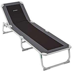 Lichfield Deluxe Camp Sun Lounger