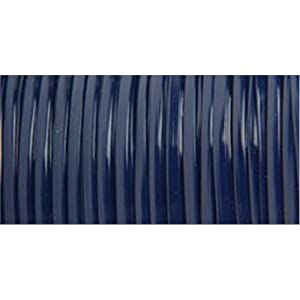 Pepperell Rexlace Plastic Craft Lace, 3/32-Inch Wide, Navy