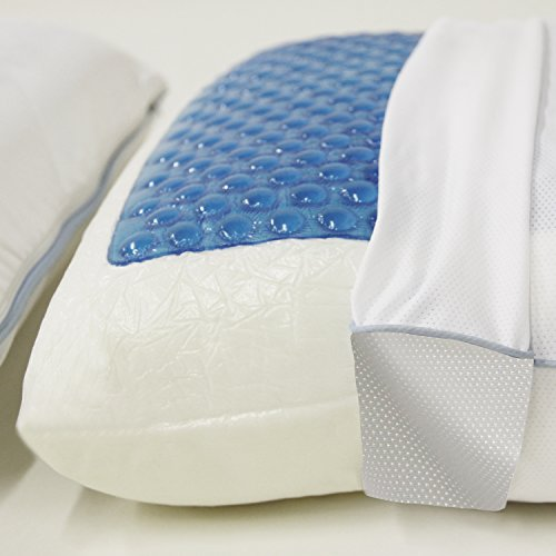 Classic Brands Reversible Cool Gel Memory Foam Pillow Home