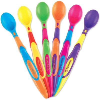 Munchkin 6 Pack Soft-Tip Infant Spoon (Pack of 3)