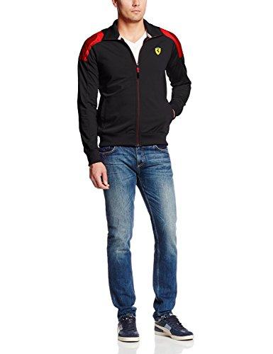 PUMA Men's Sf Track Jacket, Black, Large