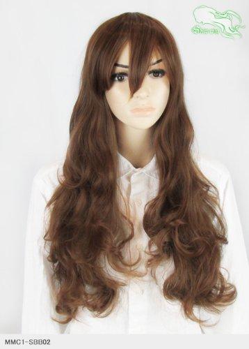 スキップウィッグ 魅せる シャープ 小顔に特化したコスプレアレンジウィッグ ドーリィミディ マロングラッセ