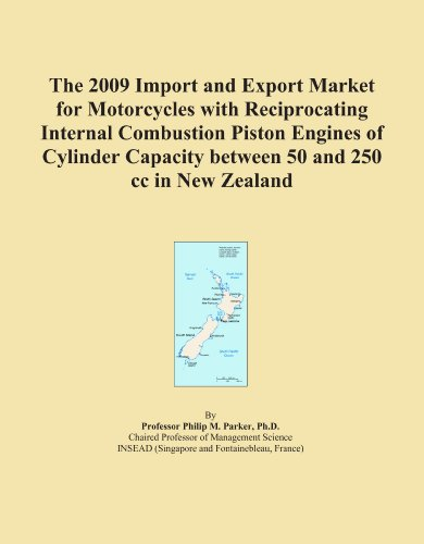 The 2009 Import and Export Market for Motorcycles with Reciprocating Internal Combustion Piston Engines of Cylinder Capacity between 250 and 500 cc in New Zealand Icon Group International